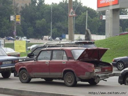 ДТП ВАЗ-2105