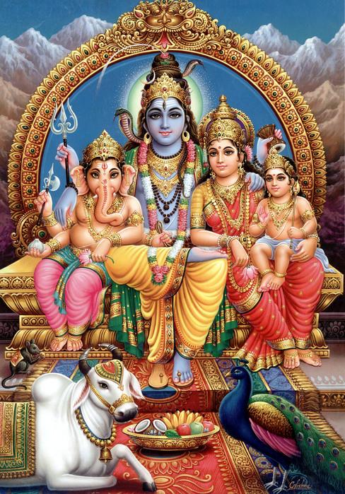 Первый сын Шивы и Парвати