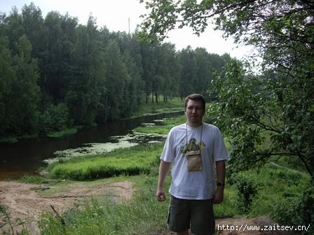 Дмитрий Зайцев Фото с сайта zaitsev.cn Dmitry Zaitsev Река Клязьма