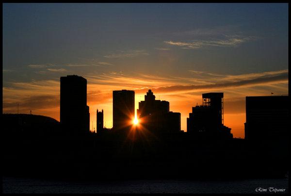 Городские закаты
