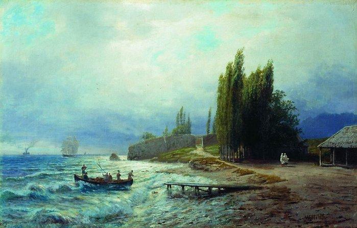 Л ф лагорио пейзаж 1871 нижегородский