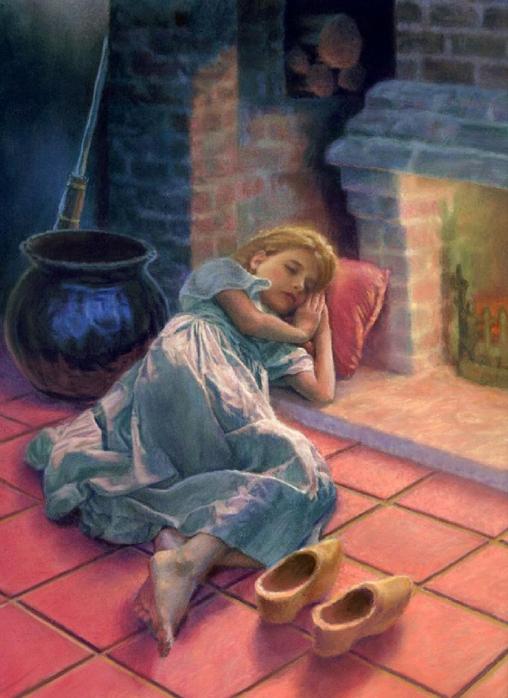 Какие Были Туфельки У Золушки В Оригинале Сказки Шарля Перро?