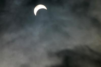 Солнечное затмение (400x267, 5Kb)