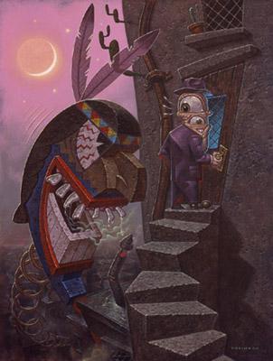 ...танжерских базарных зазывал, ЛьюисКэрролловской мистики, картин...