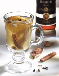 Bacardi Premium Black.  Bacardi Hot Toddy. hot drink).