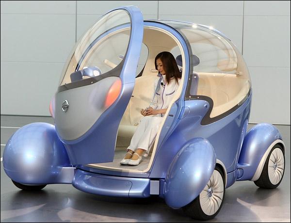 Концепт-кар Nissan Pivo 2 с
