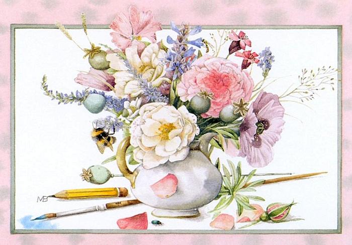 Поздравление художнице с днем рождения
