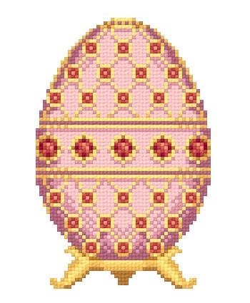 0047 схема вышивки яйца
