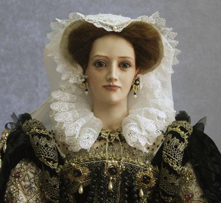 Королева шотландская в кукольном мире