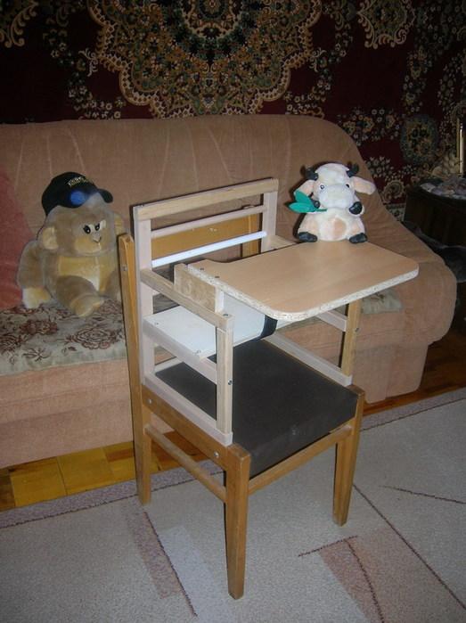 Своими руками стульчик для ребенка