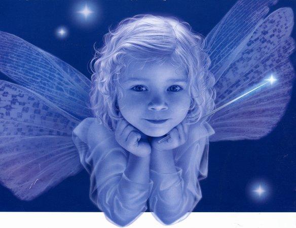 """Схема вышивки  """"Маленький ангелочек """": схема."""