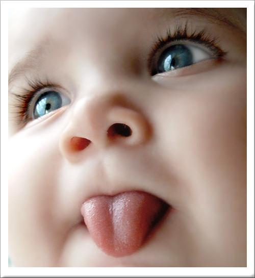 Ребенок, Малыш, во тебе, дети, привет, прикольно, язык, Лялька, тебе ответи