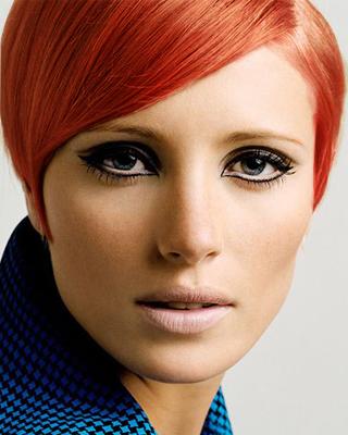 изменить цвет волос в фотошопе видео