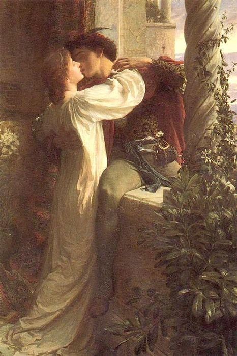 """Оригинал - Схема вышивки  """"Ромео и Джульета """" - Схемы автора  """"serdechko """" - Вышивка крестом."""