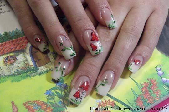 Грибы на ногтях