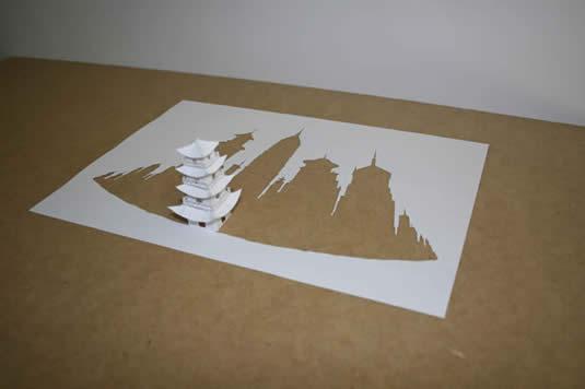 Как сделать поделку из одного листа бумаги