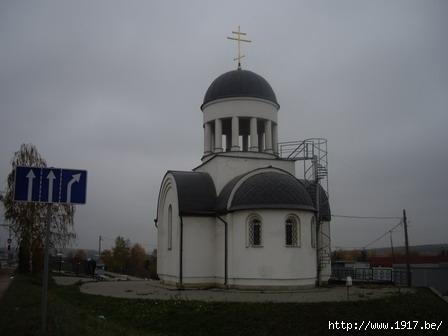 Волковское кладбище в Мытищах : Часовня