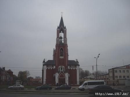Колокольня Троицкой церкви в Щелково