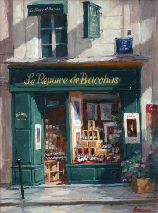 George Botich - 街角咖啡屋 - casper - 二手书店正式开张*
