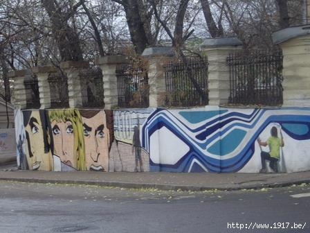 Граффити - Старосадский переулок