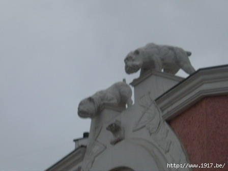 """Бульдоги на крыше. Кукольный театр """"Огниво"""" г. Мытищи"""