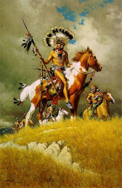 Выпустило агитку мол индейцы сша