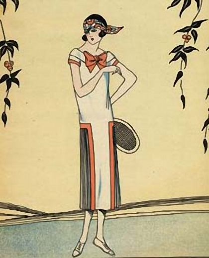 impact of art deco on fashion Art deco fashion was defined by simple lines, richly colored and textured fabrics inspired by exotic areas around the world.