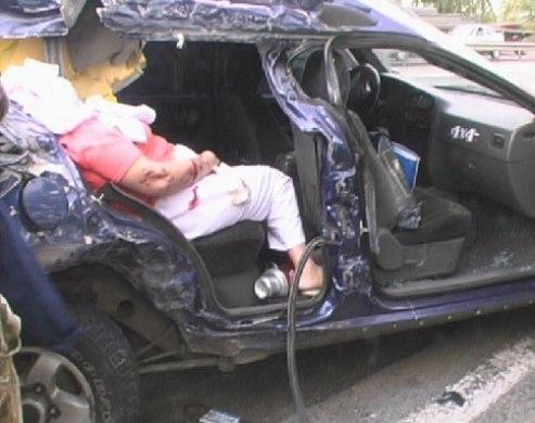 с места аварии фото