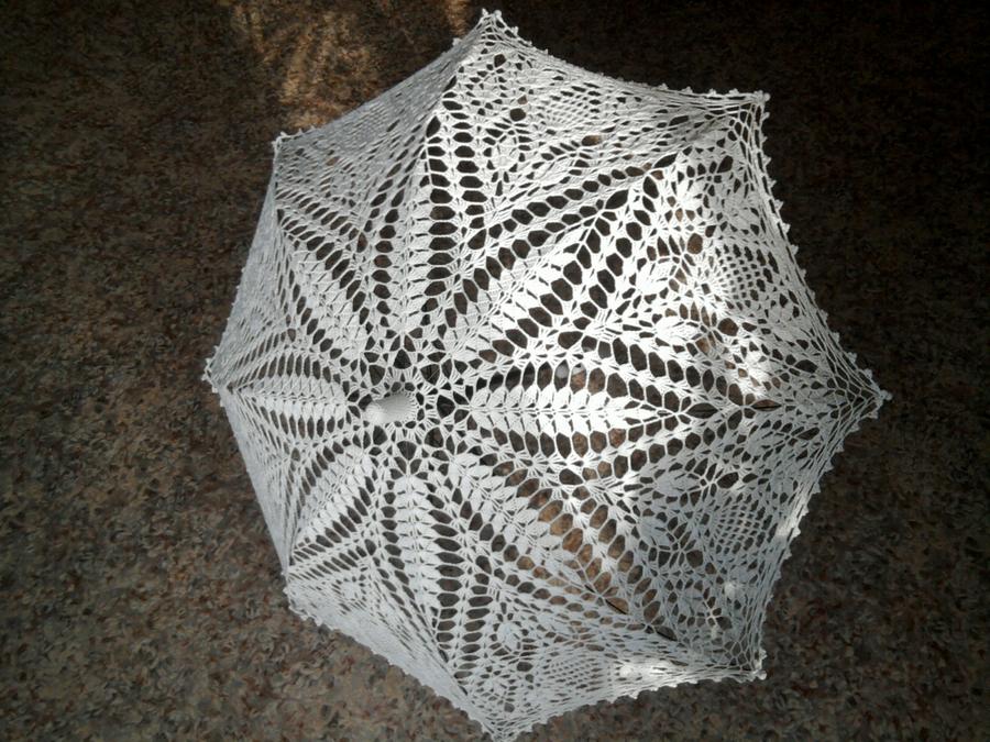 зонтики вязанные крючком со схемами