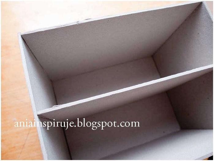 Комодик и рамочка для фотографий из картона. Мастер-класс (14) (700x526, 147Kb)