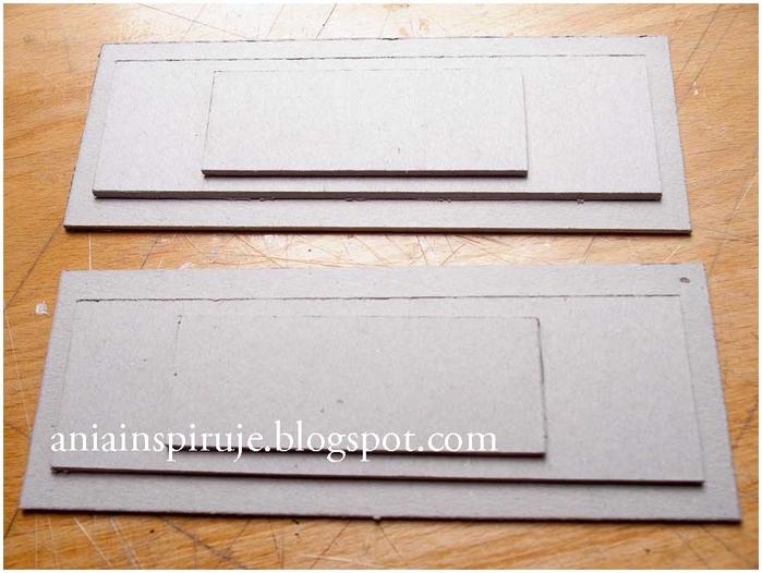 Комодик и рамочка для фотографий из картона. Мастер-класс (16) (700x526, 229Kb)