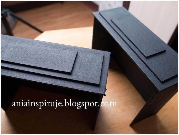 Комодик и рамочка для фотографий из картона. Мастер-класс (20) (700x526, 197Kb)