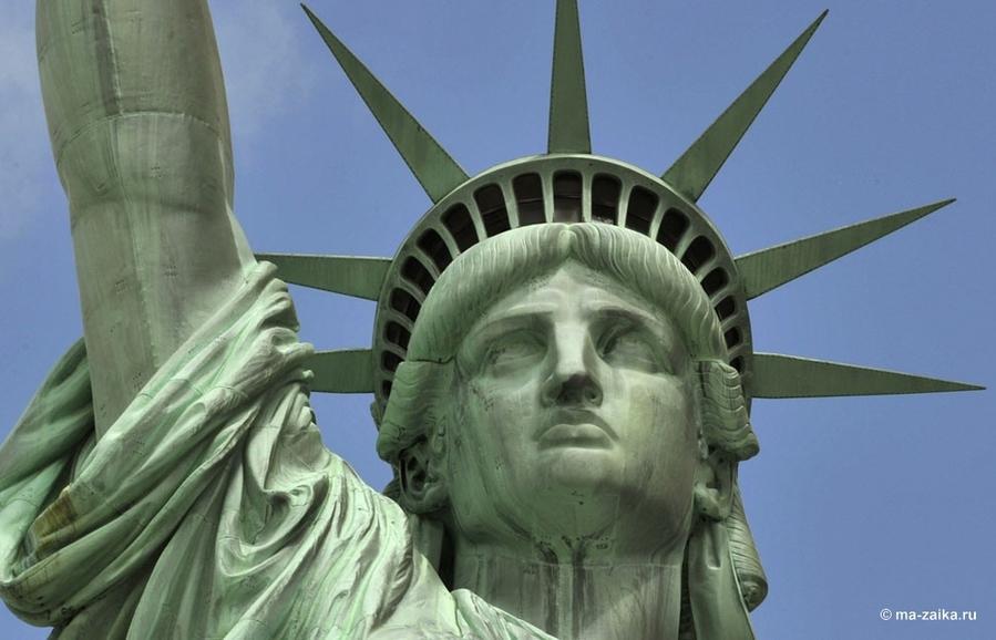 Статуя Свободы: 127 лет в