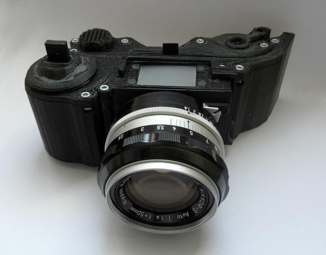 фотоаппарат OpenReflex Camera на 3D-принтере (640x502, 153Kb)