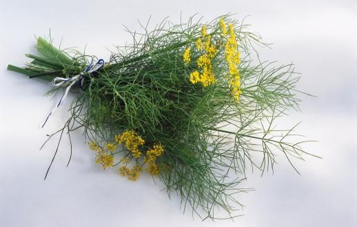 Трава в букет