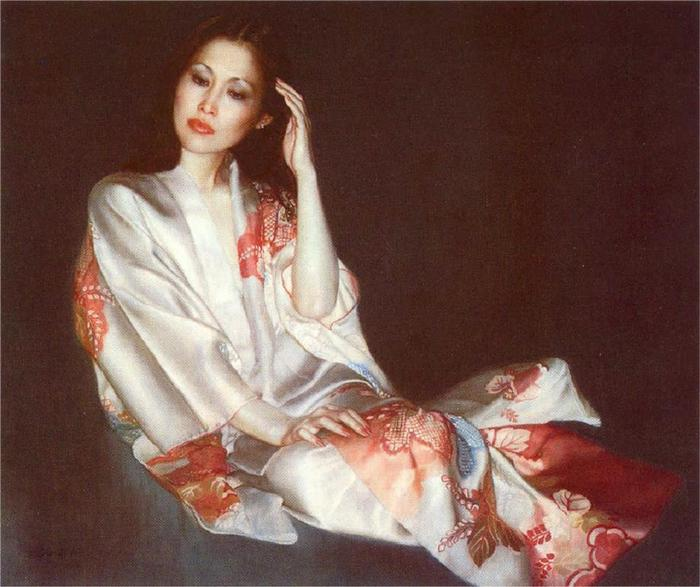 Chen Yifei 1946-2005 - Chinese Figurative painter - Tutt'Art@ (5) (700x587, 55Kb)