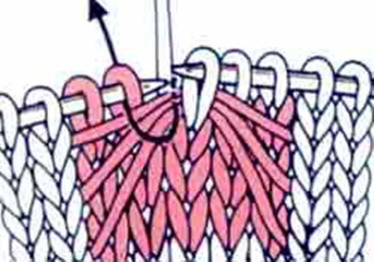 """针织基础:""""蝙蝠""""图案 - maomao - 我随心动"""