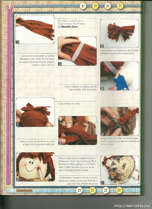 Шьем текстильную куклу. Идеи с выкройками (31) (508x700, 321Kb)