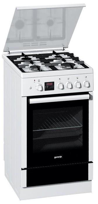 Плита газовая Gorenje GI53378AW, белая ,ящик для посуды (336x700, 37Kb)
