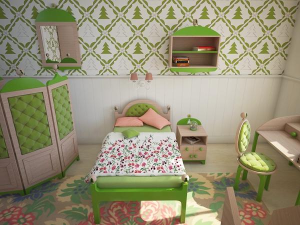 интерьер детской комнаты 3 (600x450, 259Kb)