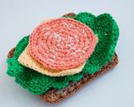 Вязаный бутерброд