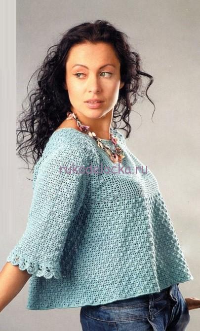 Фил пуловер с розой (405x672, 99Kb)