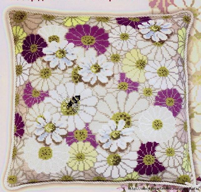 Риолис подушки схемы вышивки бесплатно