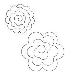 Как сделать бумажные розы. Мастер-класс (1) (215x238, 22Kb)