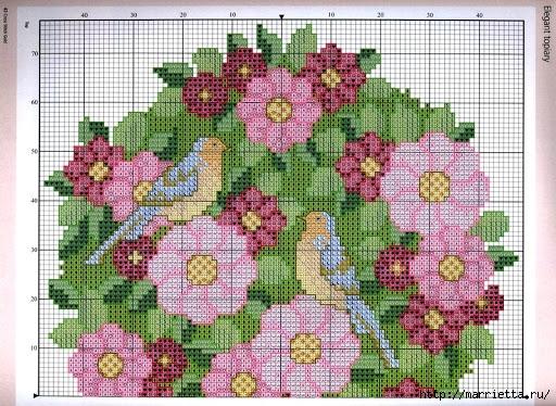 схема вышивки цветочный топиарий (2) (512x374, 231Kb)