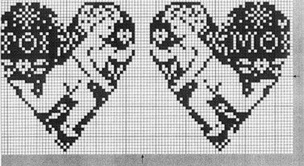 монохром (два ангелка) (604x330, 124Kb)