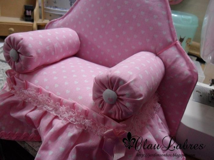 Сделать кресло для кукол