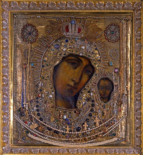 Казанская икона (589x640, 148Kb)