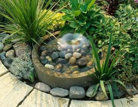 Секреты красивого сада: маленький водоем в саду - Larisa-Klara- я.ру