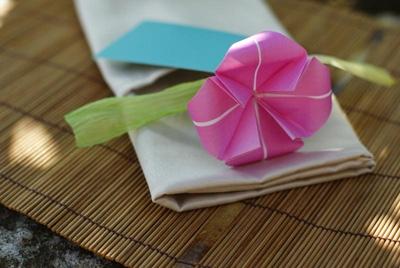 Букет цветов оригами из бумаги. Фото мастер-класс (16) (400x268, 83Kb)